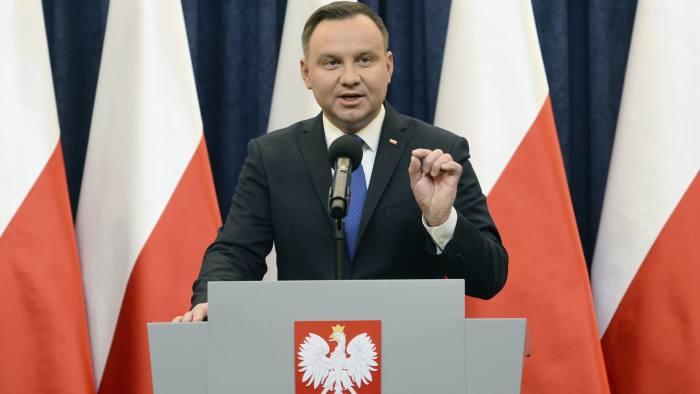 波兰总统杜达(美联社)