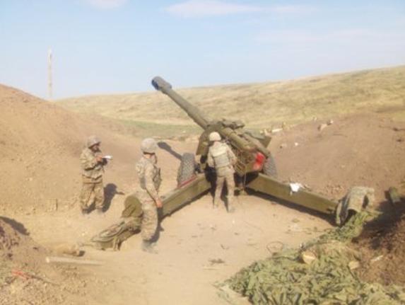 """亚美尼亚方面称,纳卡地区正发生""""激烈战斗""""。(图源:亚美尼亚新闻网)"""