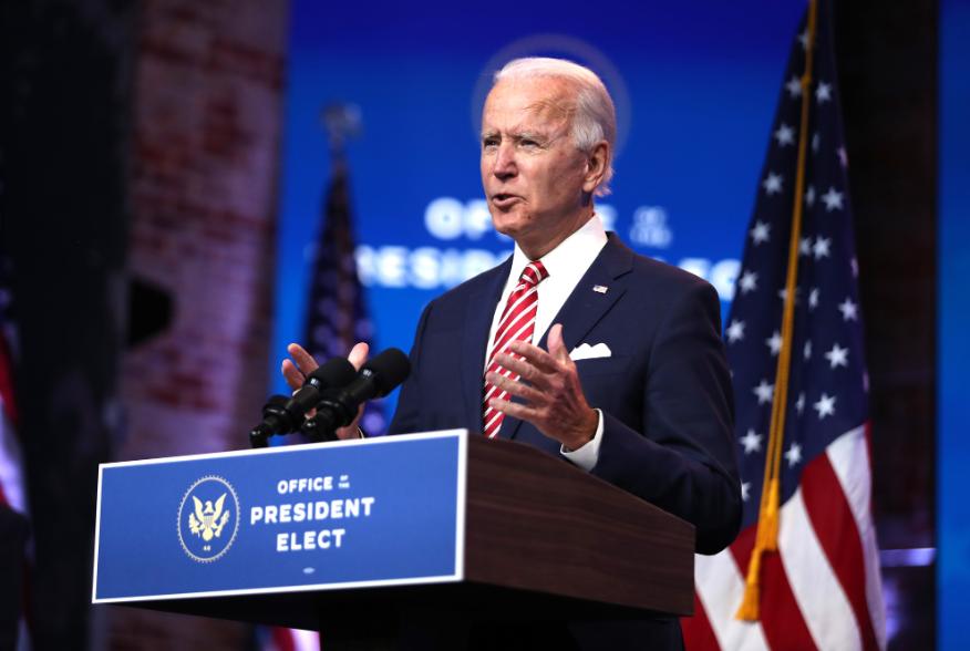拜登公布白宫幕僚团队核心人员名单。(图源:Getty Images)