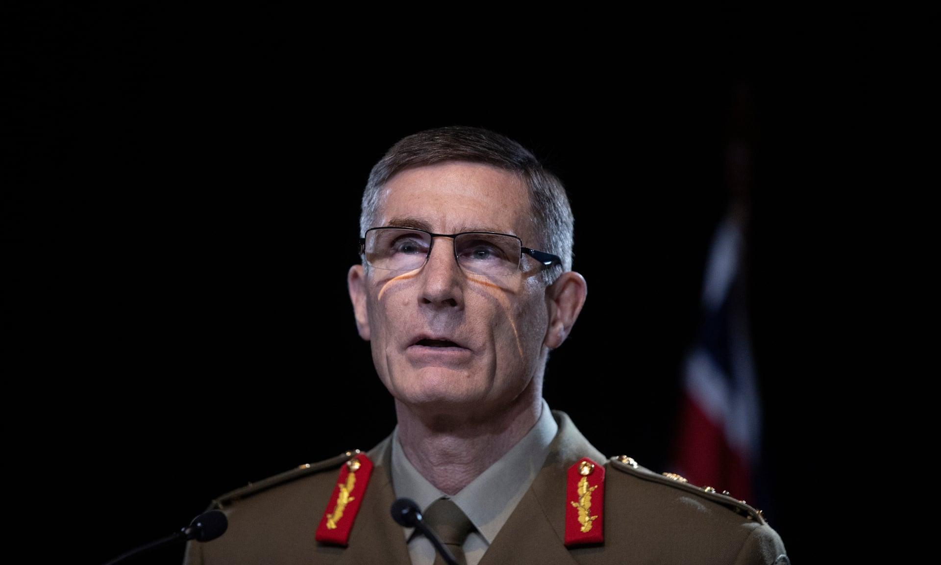 澳大利亚最高军事官员坎贝尔(卫报)