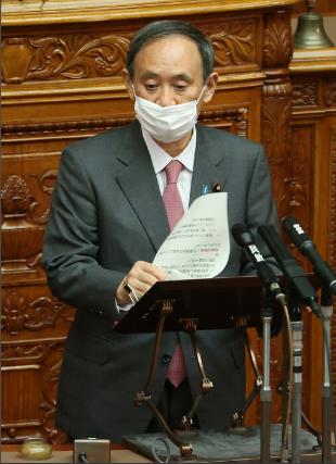 日本多地疫情告急 首相菅义伟紧急宣布应对措施