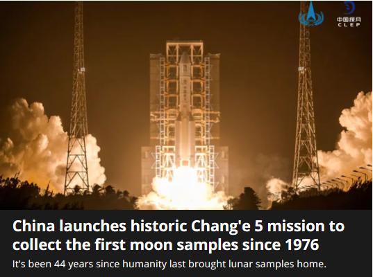 """海外网深一度:""""嫦娥""""奔月,惊艳世界的不只是""""太空雄心"""""""