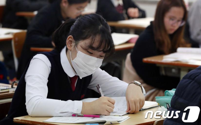 韩国的高三考生(news 1)