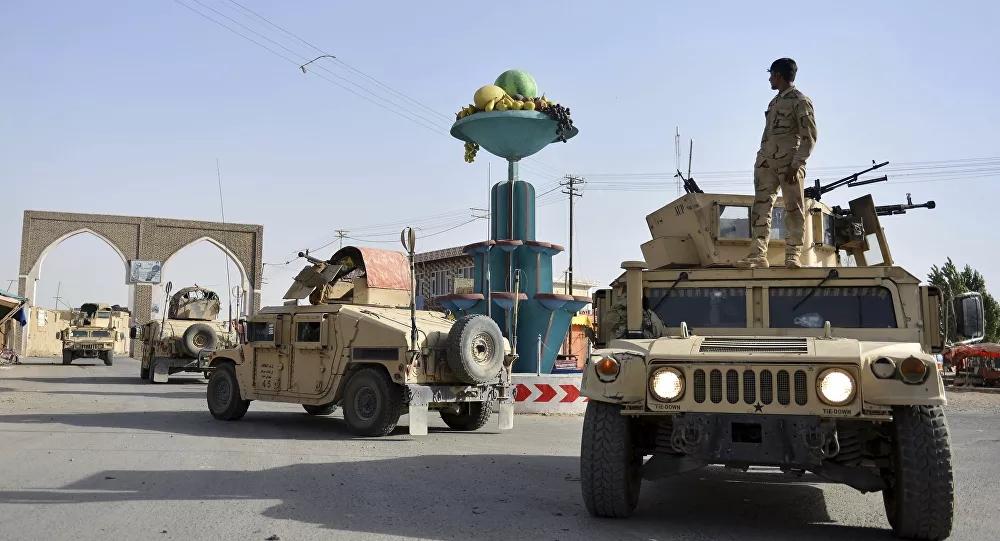 资料图:阿富汗安全人员巡逻。(美联社)
