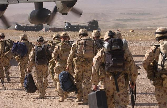 图为澳大利亚士兵在阿富汗(澳军方资料图)