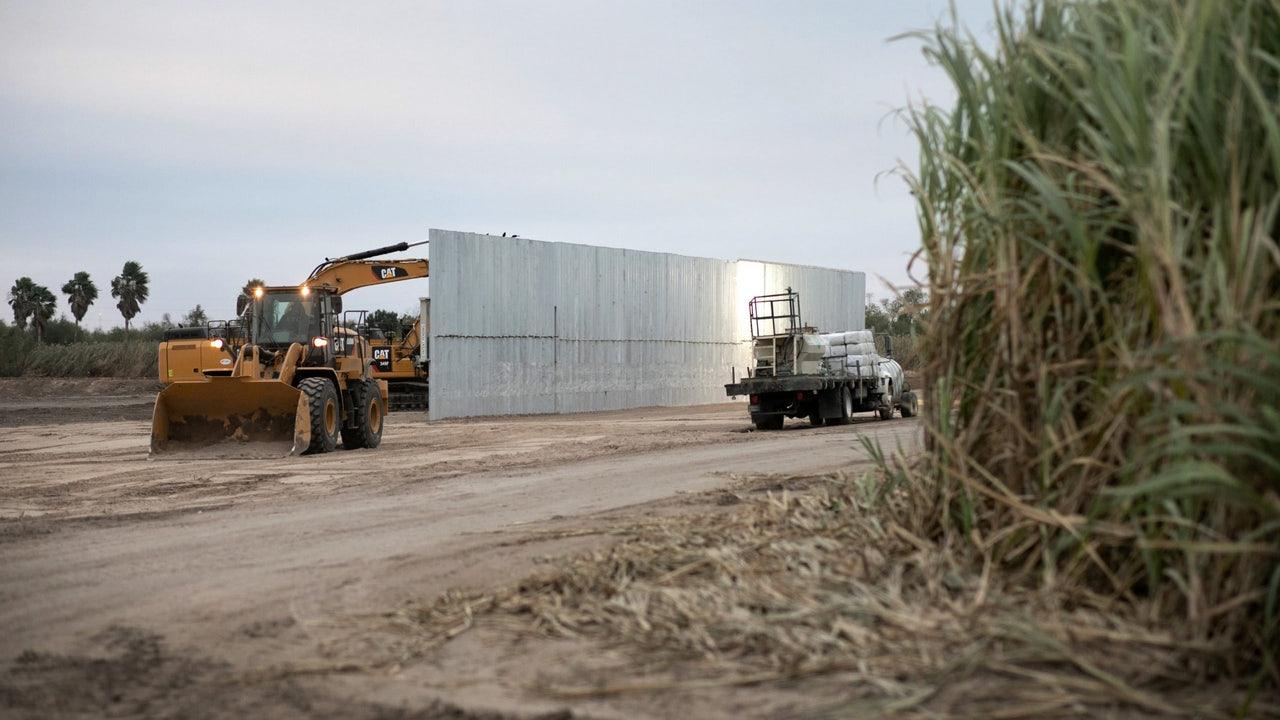 特朗普政府正倍速推进边境墙的建设。(Getty Images)