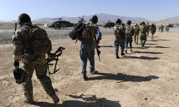 在阿富汗的澳大利亚士兵(图源:澳大利亚国防部)