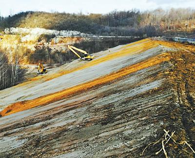 图为治理前景象。紫金矿业供图