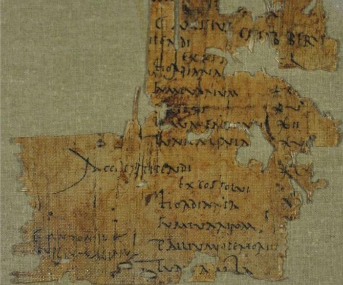英考古学家发现古罗马士兵工资单 扣完多种费用后实际没发钱