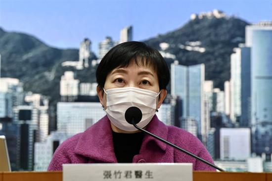图为香港卫生署卫生防护中心传染病处主任张竹君