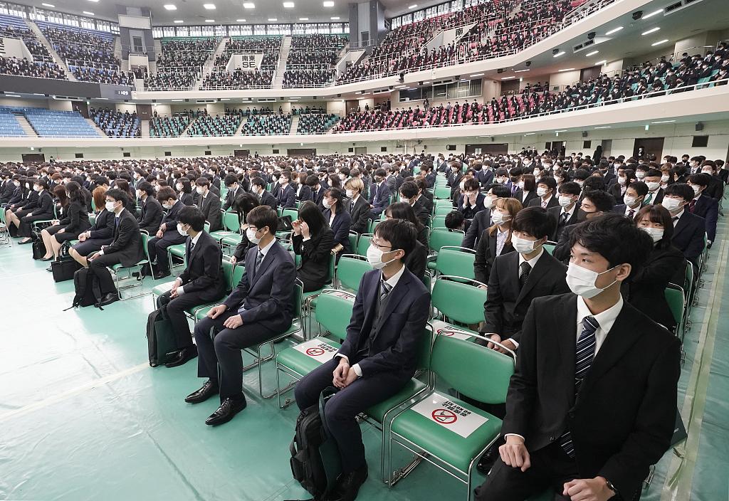 日本专修大学的入学仪式