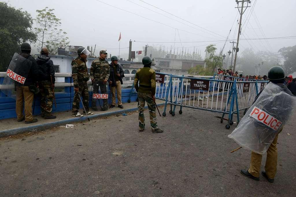 印度一警局7名警察确诊新冠 已紧急关闭进行消毒