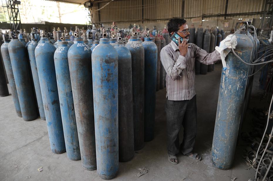 印度医院氧气告急