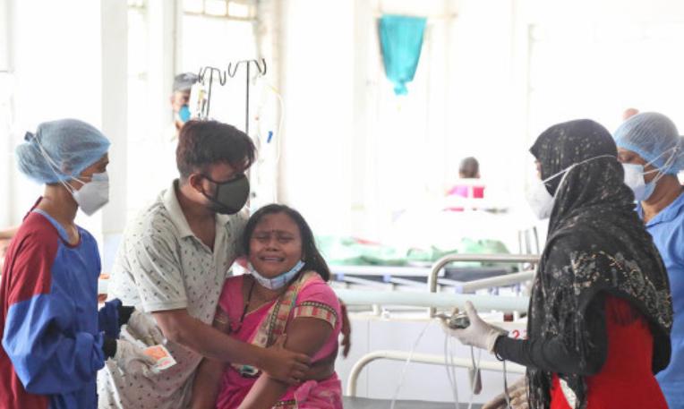 印度的一家医院。(资料图)