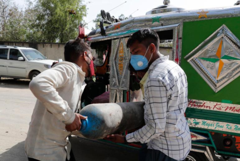 印度多地报告医用氧气短缺(资料图)