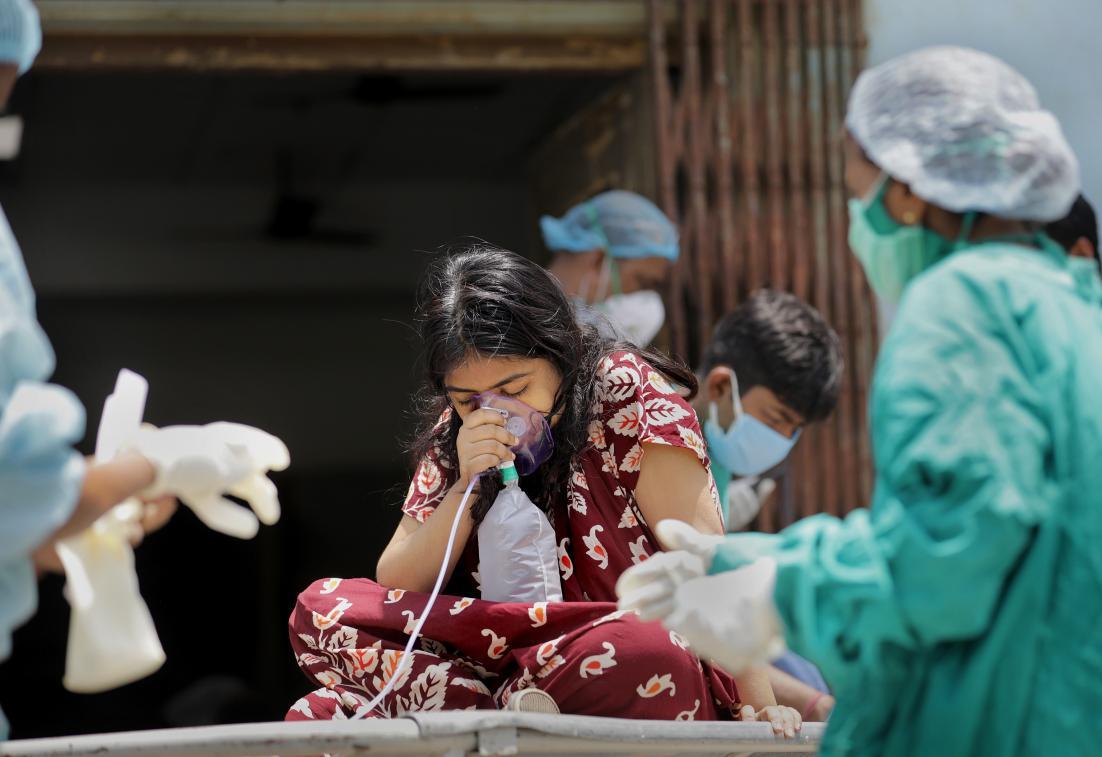 印度近期疫情严峻