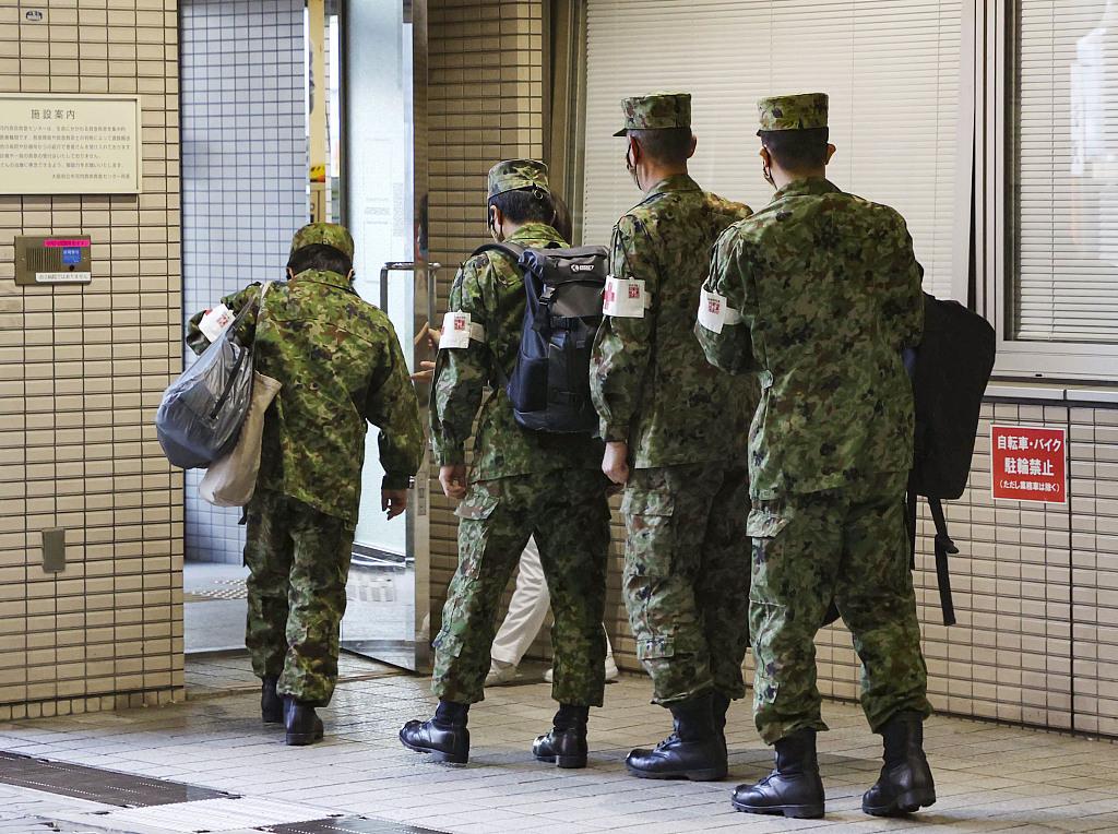 资料图:日本陆上自卫队