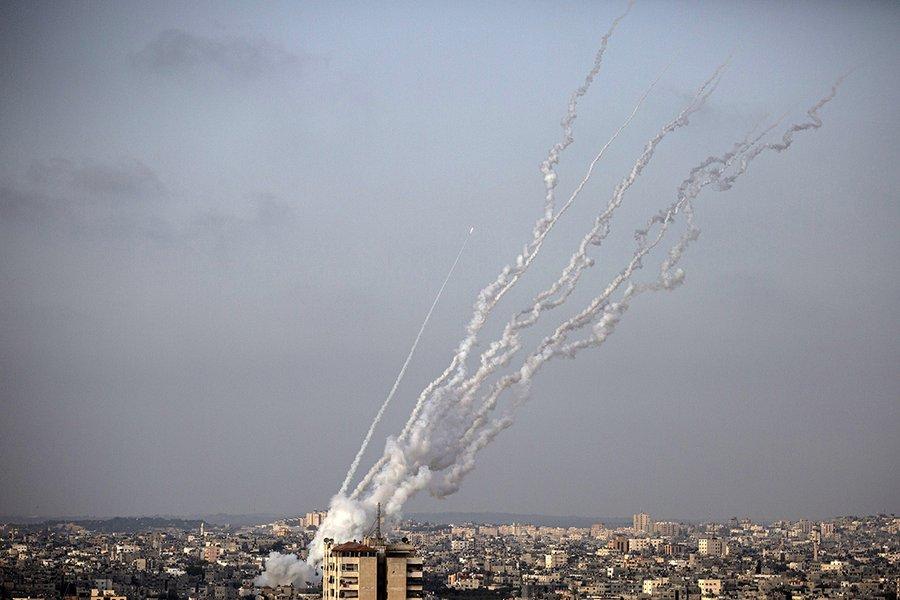 逾千枚火箭弹来袭 以色列铁穹防空系统一度故障