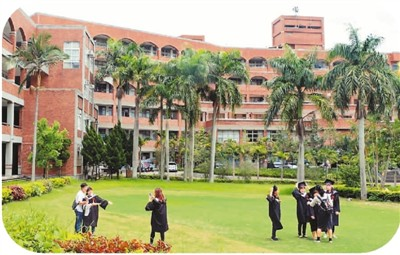 图为已经停办的台湾亚太创意技术学院校舍。谭英瑛摄