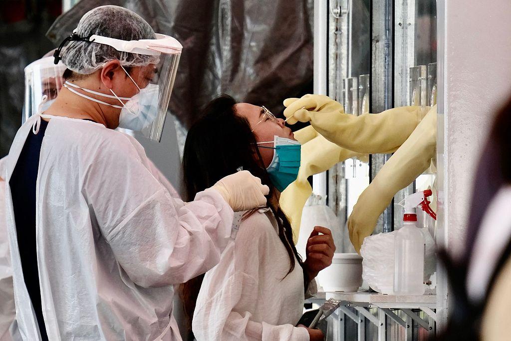 台湾新增250例本土病例 新增死亡病例26例