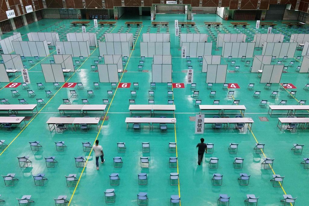 台湾新增132例本土病例 新增死亡病例8例