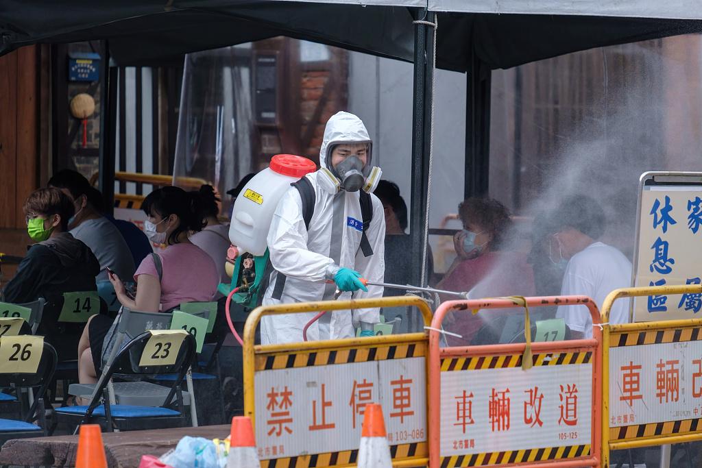 台湾新增88例本土新冠病例 新增9例死亡病例