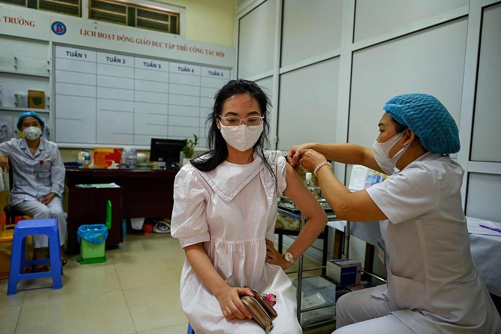 越南新增确诊病例7594例 河内加大力度管控人员流动