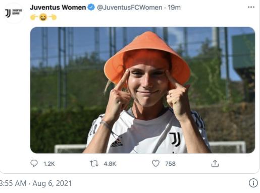意大利尤文图斯女足推特