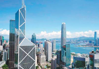 香港是国际金融中心,发展绿色金融优势显著。(资料图片)