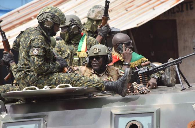 几内亚发生军事政变